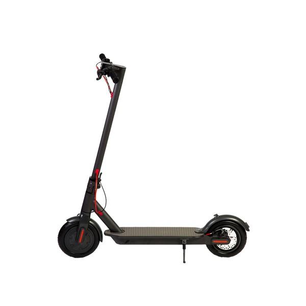 Brigmton bmi-365 negro patinete eléctrico 20km/h 20km autonomia luz led 250w